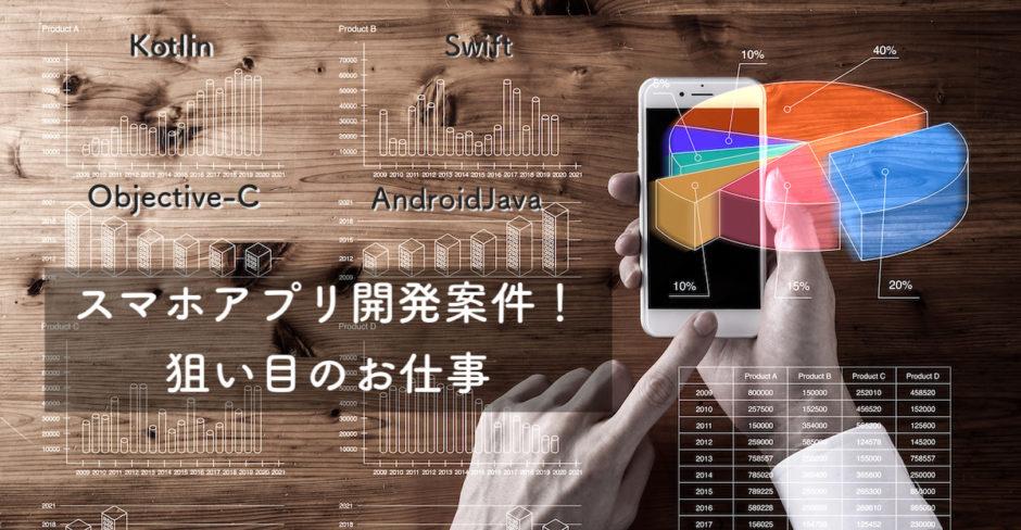 スマホアプリ 開発案件